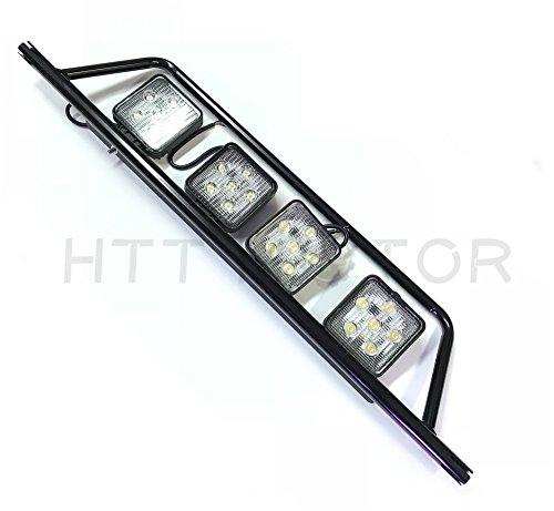 - SMT MOTO- 18W LED Light Bar- Can Am Commander, Maverick & Kubota w/2 in mount 4 LED light