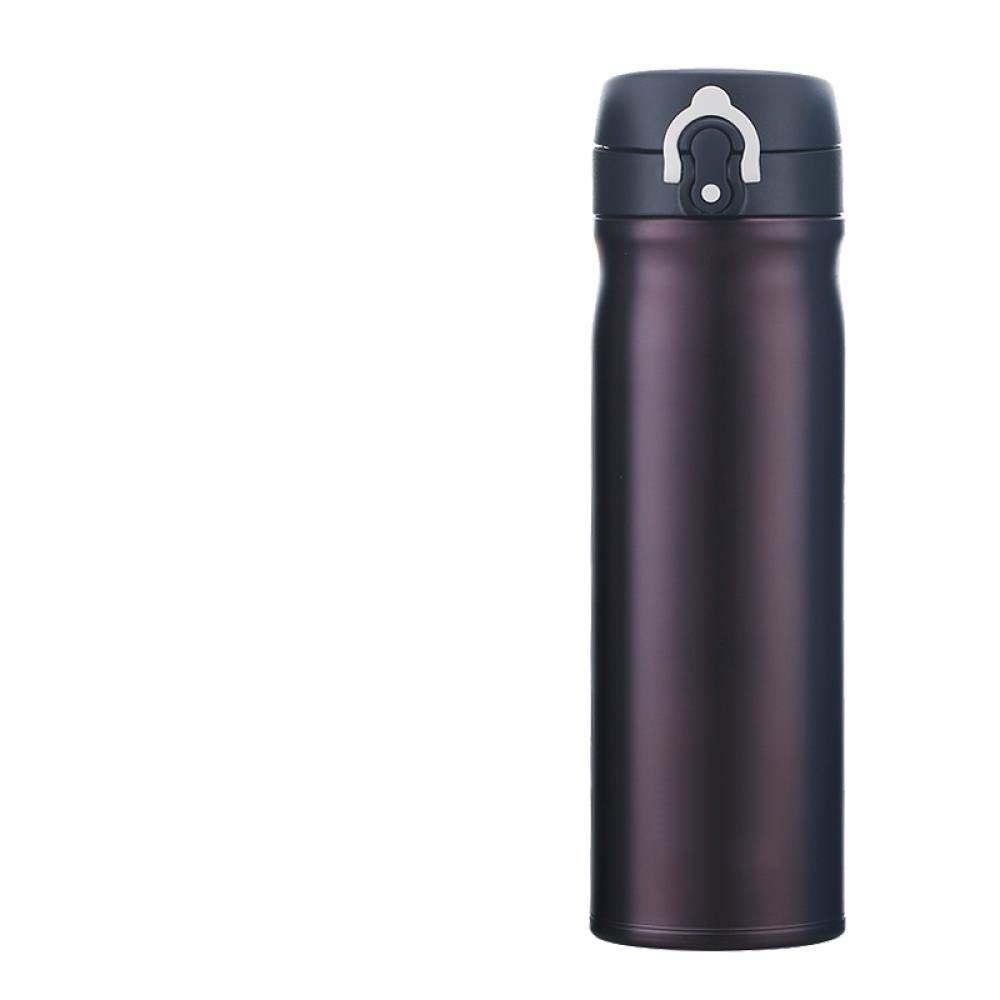 Tcmb-550 noir Coffee  acier inoxydable Insulating Cup grand capacité Water Cup for Hommes and femmes Ultra-lumière portable Leakproof Cup for Hommes, JNL-600 bleu