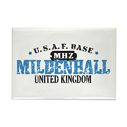 CafePress Mildenhall Air Force Base Rectangle Magnet, 2
