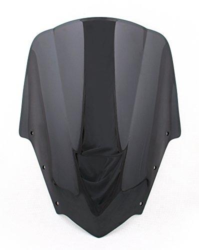 Areyourshop Windshield WindScreen Double Bubble for Yamaha FZ1S 2006-2011