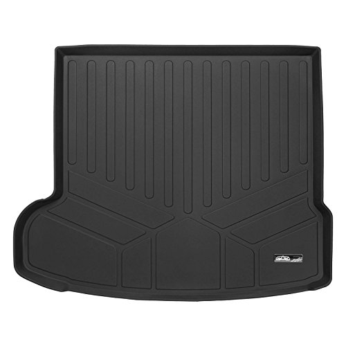 MAXLINER D0337 MAXTRAY Black All Weather Cargo Liner Floor Mat for Jaguar F-Pace, 1 Pack by MAXLINER
