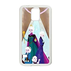 JIAJIA Frozen Princess Elsa and Anna Cell Phone Case for Samsung Galaxy S5