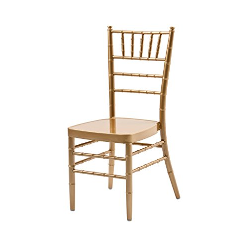 (Atlas Aluminum Chiavari Chair - Arrives Fully Assembled)