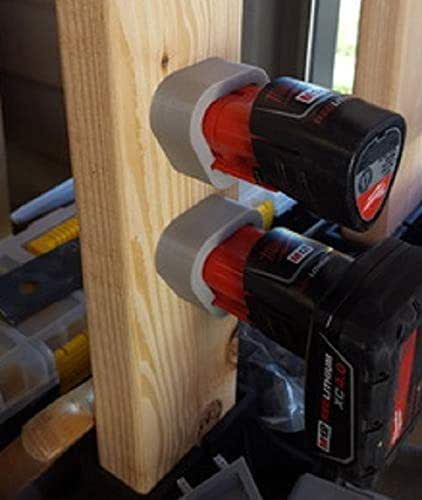 Amazon.com: Milwaukee tools Battery Holder M12 mounts
