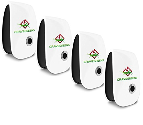Cravegreens Pest Control Ultrasonic Repellent -Electronic Plug -In Repeller for Insect (4)