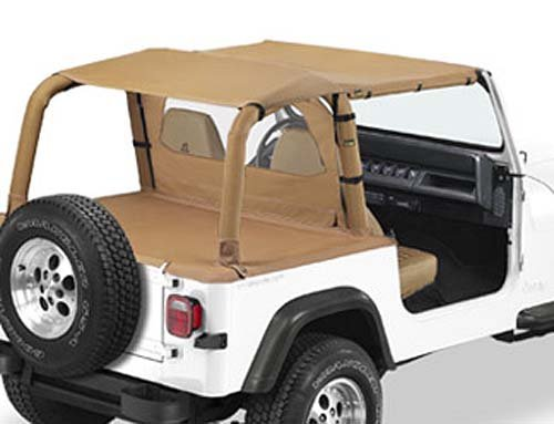 Bikini Version Safari, Couleurs: Spice, Jeep Wrangler YJ Jeeper Store