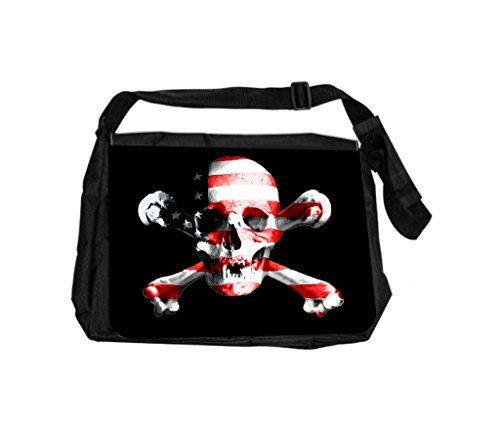 Rosie Parker Inc. American Flag Skull And Crossbones, Ros...
