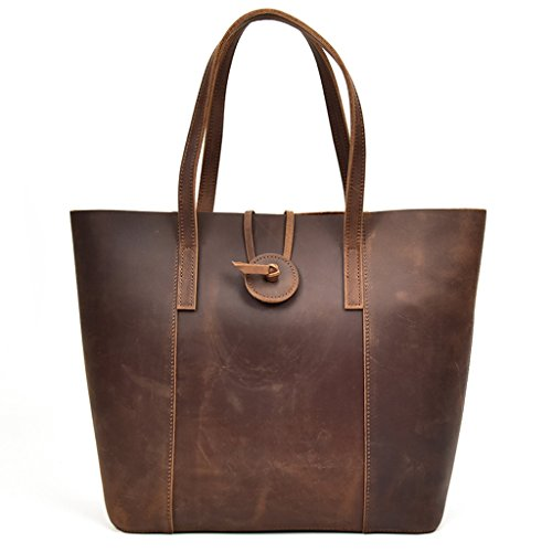 Messenger Women's Design Vintage Bags Capacity 1 Briefcases Leather Sucastle Large Shoulder wXPgq6RR