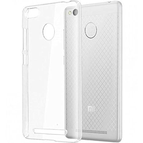 the best attitude b40af 06aef Xiaomi Redmi 3s Prime / MI 3s Prime Transparent Case: Amazon.in ...