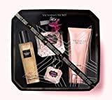 Victoria's Secret Tease 4 Piece Set with Shimmer Oil, Body Wash and Eau de Parfum