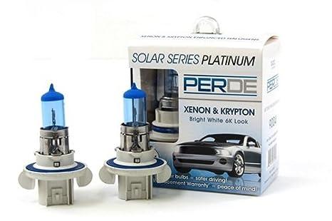 06-10 Hummer H3 PERDE Xenon H13 9008 Headlight Light Bulbs Diamond White  6000K