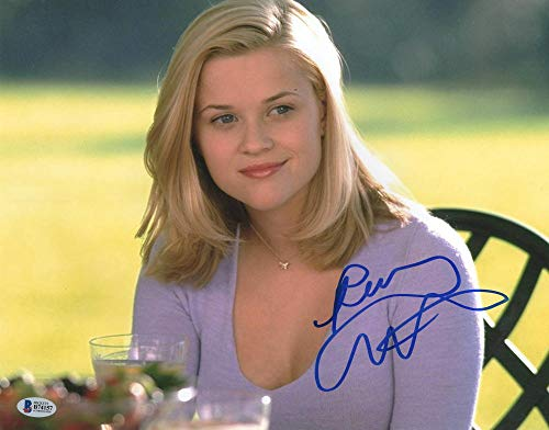 REESE WITHERSPOON SIGNED 11X14 PHOTO CRUEL INTENTIONS AUTOGRAPH BECKETT - Signed Witherspoon Reese