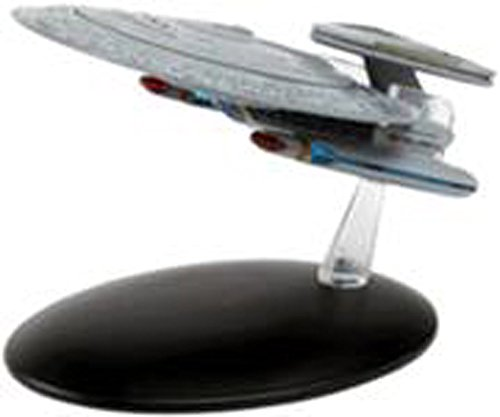 #23 Star Trek NEBULA Class DieCast Metal Ship-UK/Eaglemoss w ()