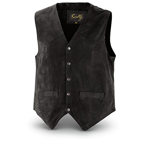 Scully Men's Cowhide Suede Vest by Scully