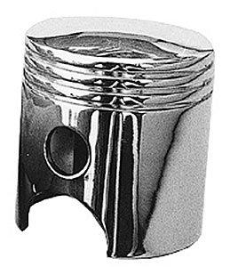 (Trans-Dapt Performance 9312 Piston Shift Knob Chrome Plated Piston Shift Knob)