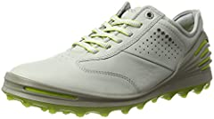 A hybrid men's golf shoe that looks good and performs flawlessly, this super-lightweight and supple Dritton leather shoe is at the pinnacle of design and functionality. A water-resistant layer keeps feet dry while the anatomical design of the...