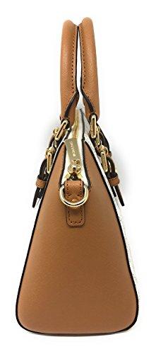 687de0798a17 Jual Michael Kors Ciara Medium Messenger Bag (Vanilla   Acorn ...