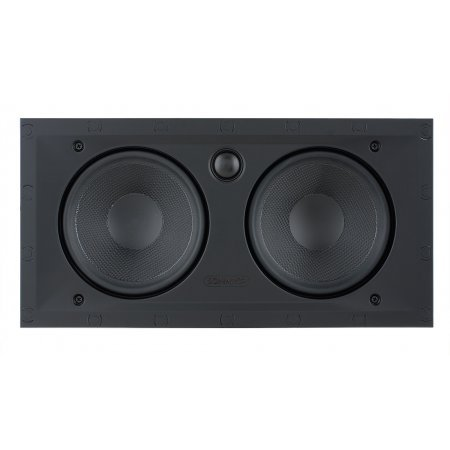 Sonance Black Visual Performance Series In-Wall Square Speakers - VP62LCR (Single)