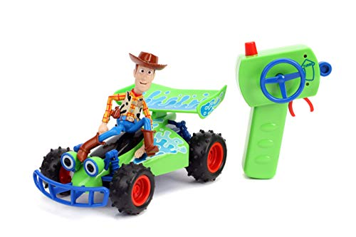 Disney Pixar Toy Story 4 Turbo Buggy W/Woody Radio Control Vehicle, 2.4 Ghz, 1: 24