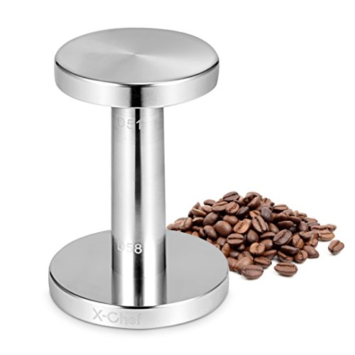 Espresso Tamper, X-Chef Tamper for Espresso 51/ 58mm Coffee Tamper