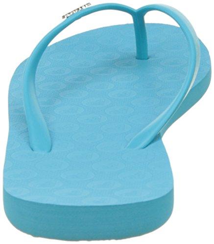 Roxy Viva Iii J Sndl, Chanclas Azul (POOL BLUE)