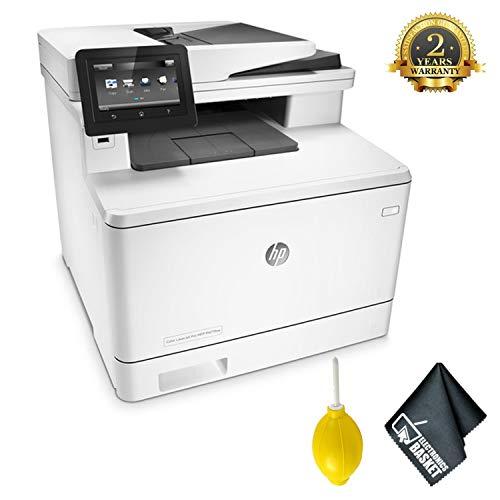 HPColor Laserjet Pro M477fnw All-in-One Laser Printer Advanced Accessory Bundle