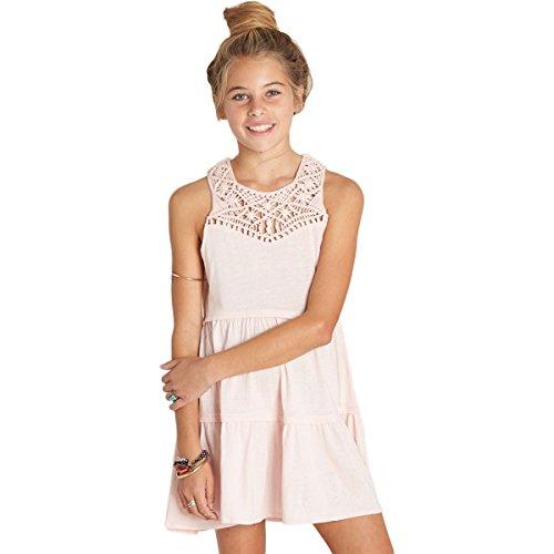 Billabong Girls Skirt - Billabong Girls Salty Side Dresses Medium Shell Pink