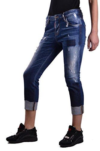 Bleu Femme S75LA0983S30342470 Jeans Coton Dsquared2 AwEgWqnR