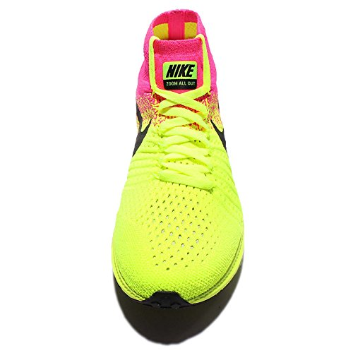 Nike W Zoom All Out Flyknit OC, Zapatillas de Running Para Mujer Negro (Negro (multi-color/multi-color))