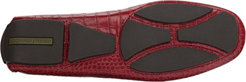 Donald J Pliner Mens Vinco5 Driving Style Mocassino Rosso