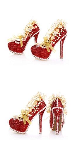 Eu Con Plateau Heel Donna 35 14cm red Rosso Minitoo gPaw8q18