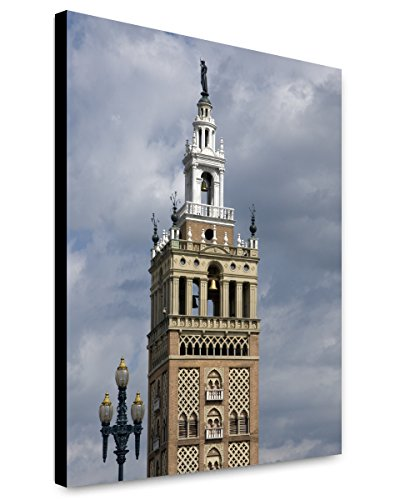 ClassicPix Canvas Print 20x24: Tower at The Country Club Plaza Shopping Mall, Kansas ()