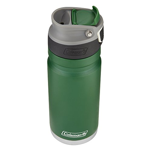 Coleman ReCharge AUTOSEAL Insulated Stainless Steel Thermal Mug, Heritage Green, 17 oz. ()
