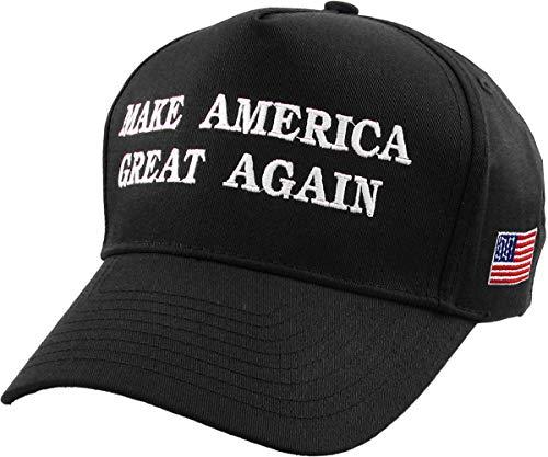 Make America Great Again - Donald Trump 2016 Campaign Cap Hat (002) Black