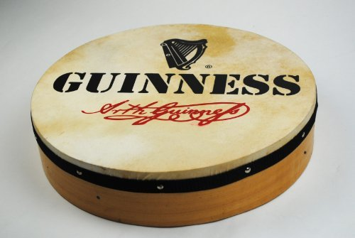 16'' Irish Guinness Design Bodhrán and Beater