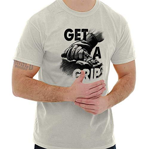 Get a Grip Rodeo American Cowboy Western T Shirt Tee