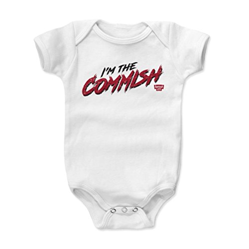 Rough Bowl 10 (500 LEVEL Fantasy Football Baby Clothes, Onesie, Creeper, Bodysuit - 6-12 Months White - Fantasy Footballl Commish Rough)