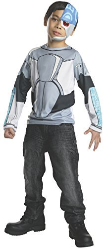 Rubies Teen Titans Go Cyborg Costume, Child Large by Rubie's ()