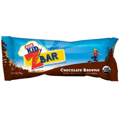 Clif Kid Zbar Organic Chocolate Brownie Snack Bar -- 162 per case. by Clif Bar
