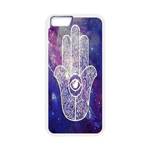 "kimcase Custom hamsa hand Cover for iPhone6 4.7"""