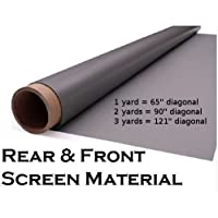 65 Diagonal Rear Projection Material Rear Projection Screen (36 x 55)