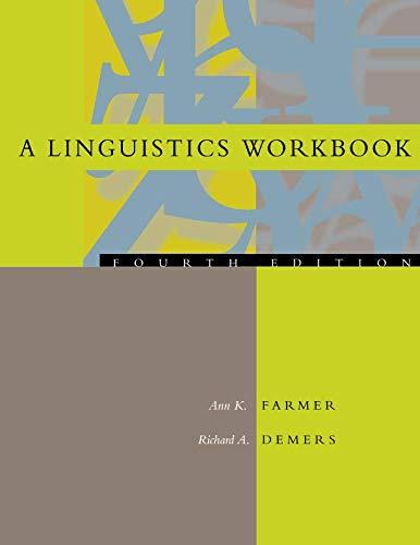 A Linguistics Workbook