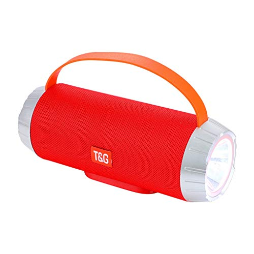 NOMENI Outdoor Wireless Portable Bluetooth Speaker Stereo 3D Surround bass Hands-Free Support SD Card Reading ()