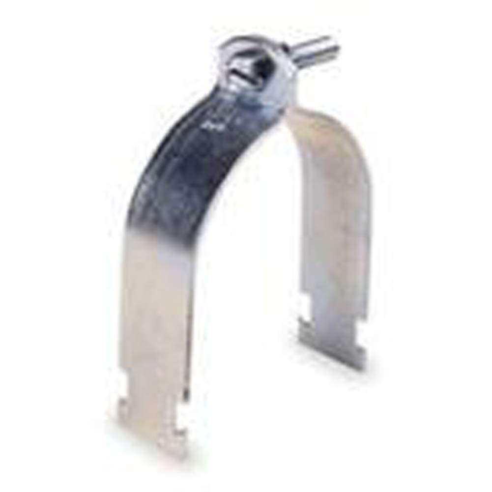 Kindorf C 105 AL 2 Rigid Strut Strap, 2'', Aluminum, Galv-Krom