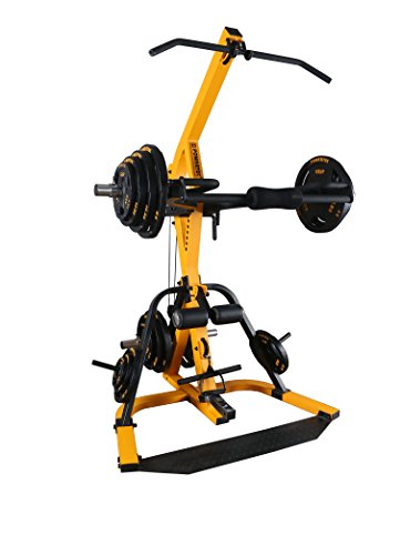 Powertec Fitness Workbench Levergym Tower (without bench), Yellow/Black Powertec -- DROPSHIP