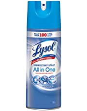 Lysol Disinfectant Spray, Spring Waterfall, 350g, Disinfect and Eliminate Odours on Hard Surfaces & Fabrics