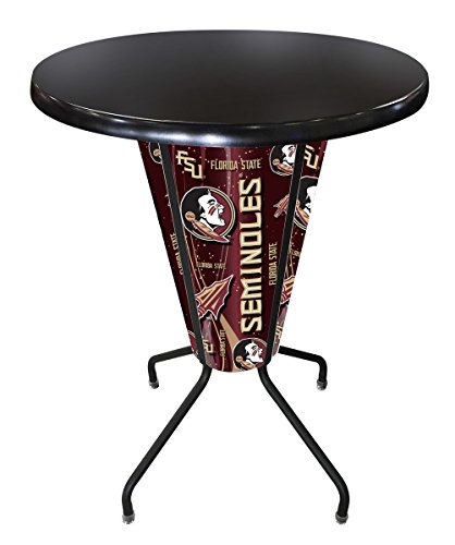 Holland Bar Stool Co. Outdoor/Indoor LED Lighted Florida State (Head) Pub Table ()