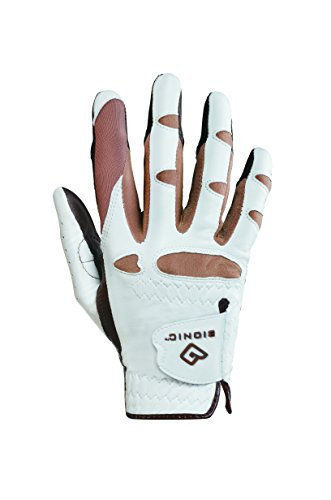 Bionic GGNTWRM Women's StableGrip with Natural Fit Truffle Golf Glove, Right Hand, Medium