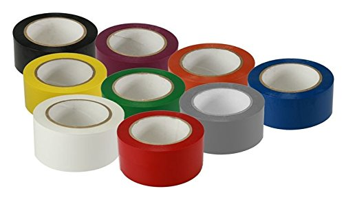 9fb0ae547a1d30 Image Unavailable. Image not available for. Color  The 5S Store Solid Vinyl Floor  Tape ...