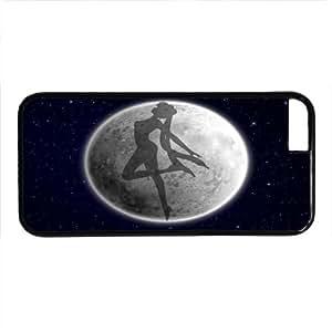Cartoon & Anime Seriers Sailor Moon Hard Case For Iphone 6 (Galaxy) - PC Black